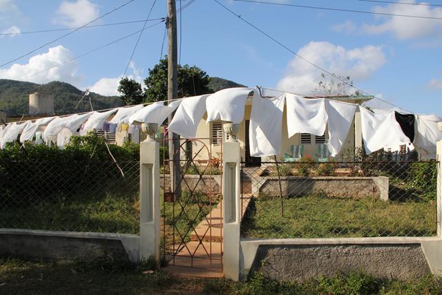 Laundry day Cuba
